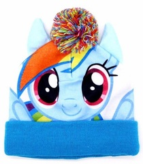 Мой маленький пони шапка детская Радуга Дэш