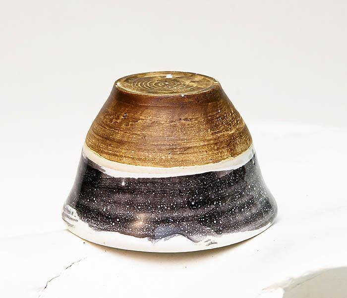 CUP101-3 Пиала ручной работы, керамика, серия «Млечный Путь» фото 04