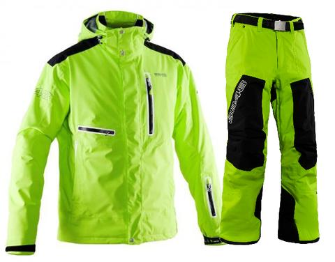 Мужской горнолыжный костюм 8848 Altitude Sason/Base 66 (lime)