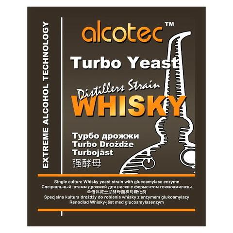 Турбо дрожжи Alcotec Distillers strain Whisky 73 грамма на 25 литров браги