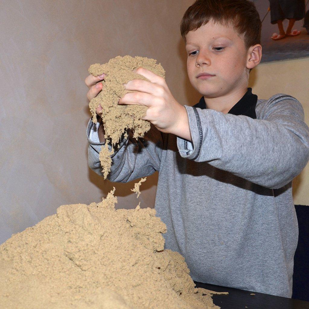 оригинальный кинетический песок