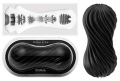 Мастурбатор  TENGA FLEX Rocky Black