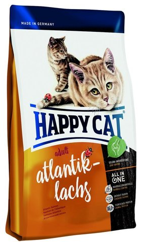 Сухой корм Happy Cat  Adult Atlantik-lachs