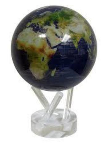 Глобус MOVA GLOBE Вид из космоса, синий (16,5см)