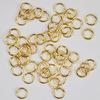 Комплект колечек одинарных 5х0,7 мм (цвет - золото), 10 гр (примерно 210 шт)
