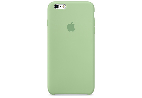 Apple iPhone 6/6S Plus Чехол Silicon Case (Мятный)