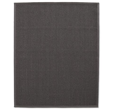Belgian Textured Wool Sisal Rug - Charcoal