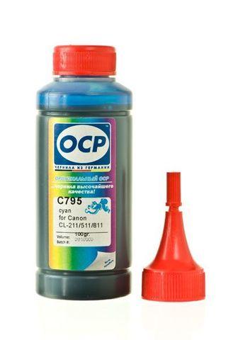 Чернила ОСР 513 C голубые для картриджей Brother LC1000Y, LC1100Y, LC980Y, LC970Y (100 гр)