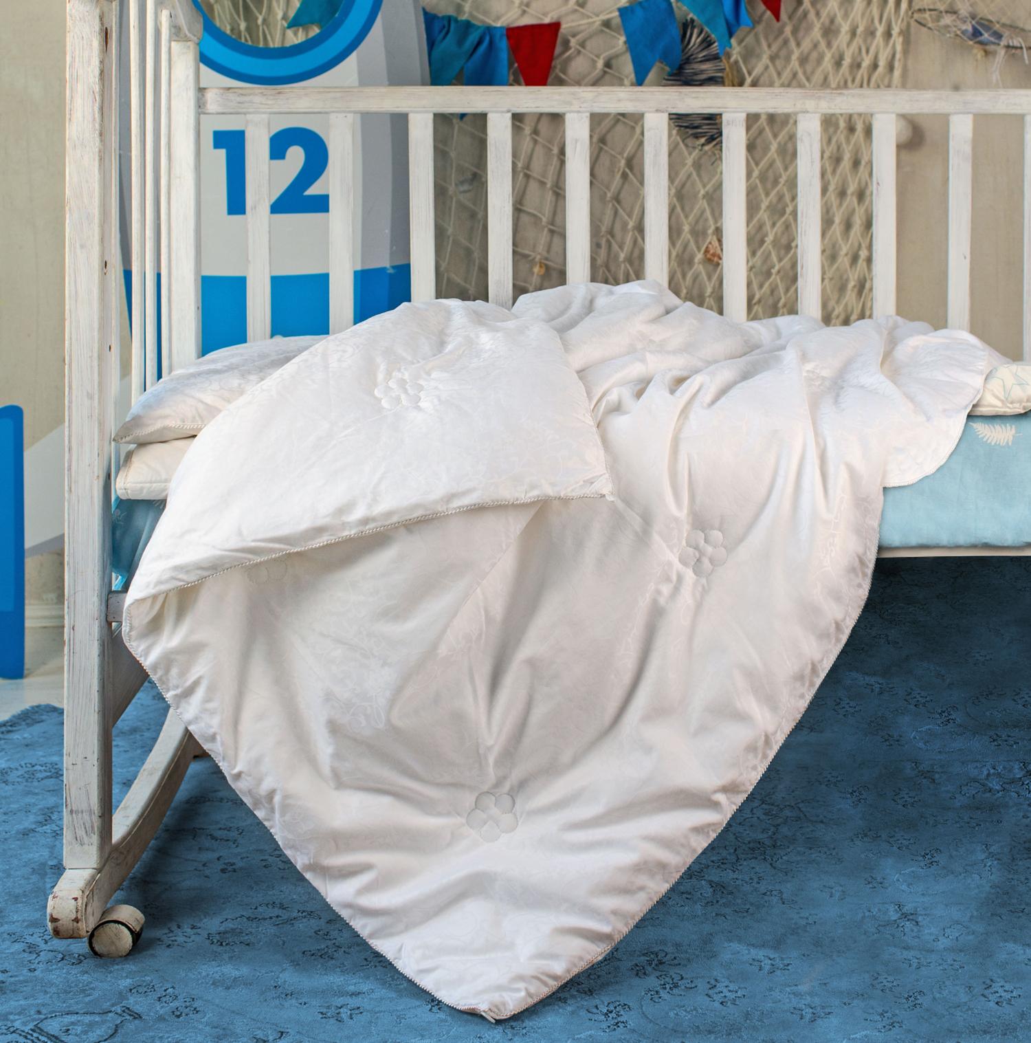 Детские одеяла Одеяло детское шелковое 110х140 OnSilk Comfort Premium легкое odeyalo-detskoe-shelkovoe-110h140-onsilk-comfort-premium-legkoe-kitay.jpg