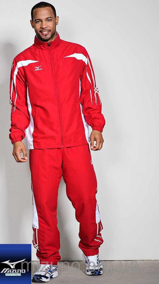 Мужской спортивный костюм мужской Mizuno Woven Track Suit red (60WW051 62) фото