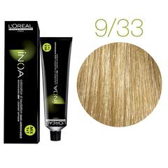 L'Oreal Professionnel INOA 9.33 (Очень светлый блондин золотистый экстра) - Краска для волос