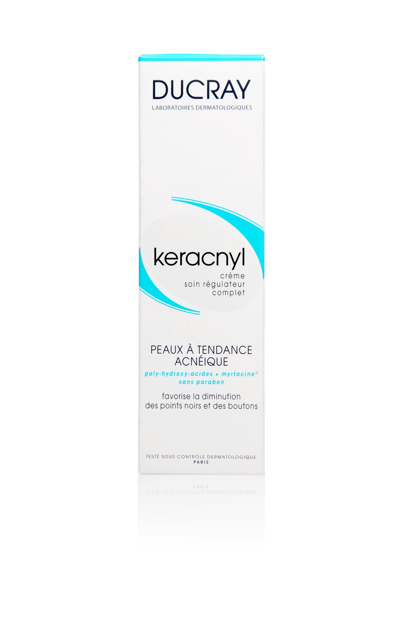 Ducray Keracnyl регулирующий крем для кожи с акне 30 мл.