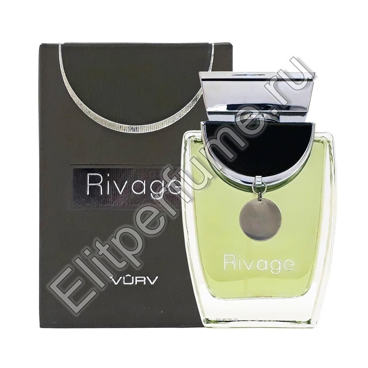 RIVAGE BLACK m EDP 100 мл спрей от Vurv Вурф