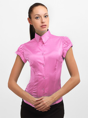 084108-2 блузка женская, розовая