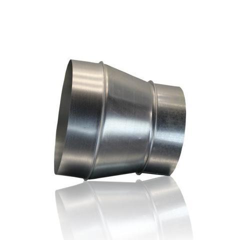 Переход 80х160 оцинкованная сталь