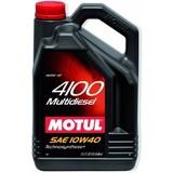 Motul 4100 Multidiesel 10W-40 - Полусинтетическое дизельное моторное масло 5л.