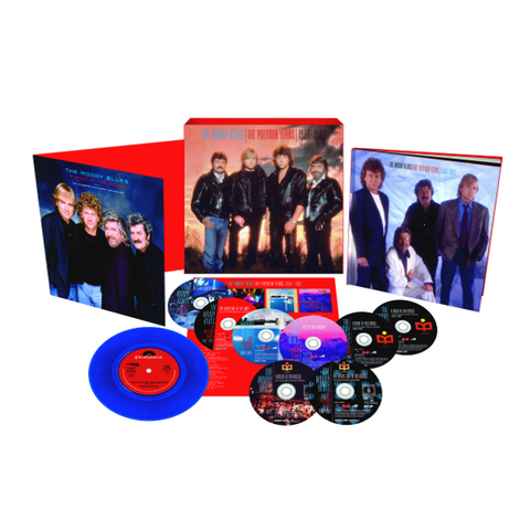 The Moody Blues / The Polydor Years 1986-1992 (6CD+2DVD+7