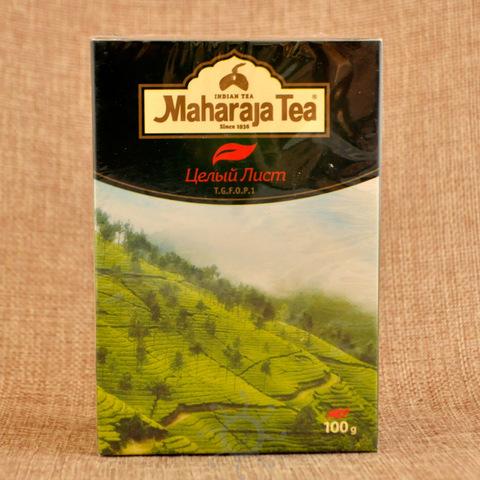 Чай ассам черный байховый целый лист Махараджа, 100г