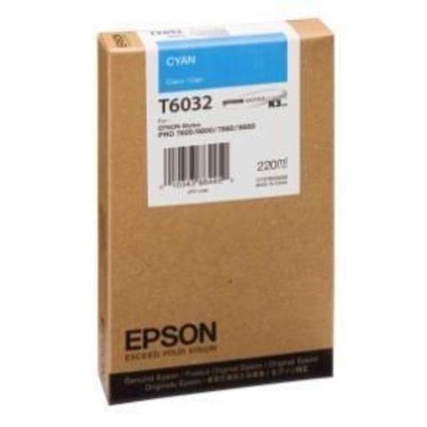 Картридж голубой Epson C13T603200 для Stylus Pro 7800/9800/7880/9880 (220 мл)