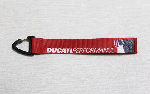 Ремешок короткий для ключей Ducati