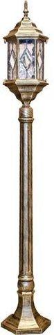 Светильник садово-парковый, 60W 230V E27 1.2M черное золото, PL126 (Feron)