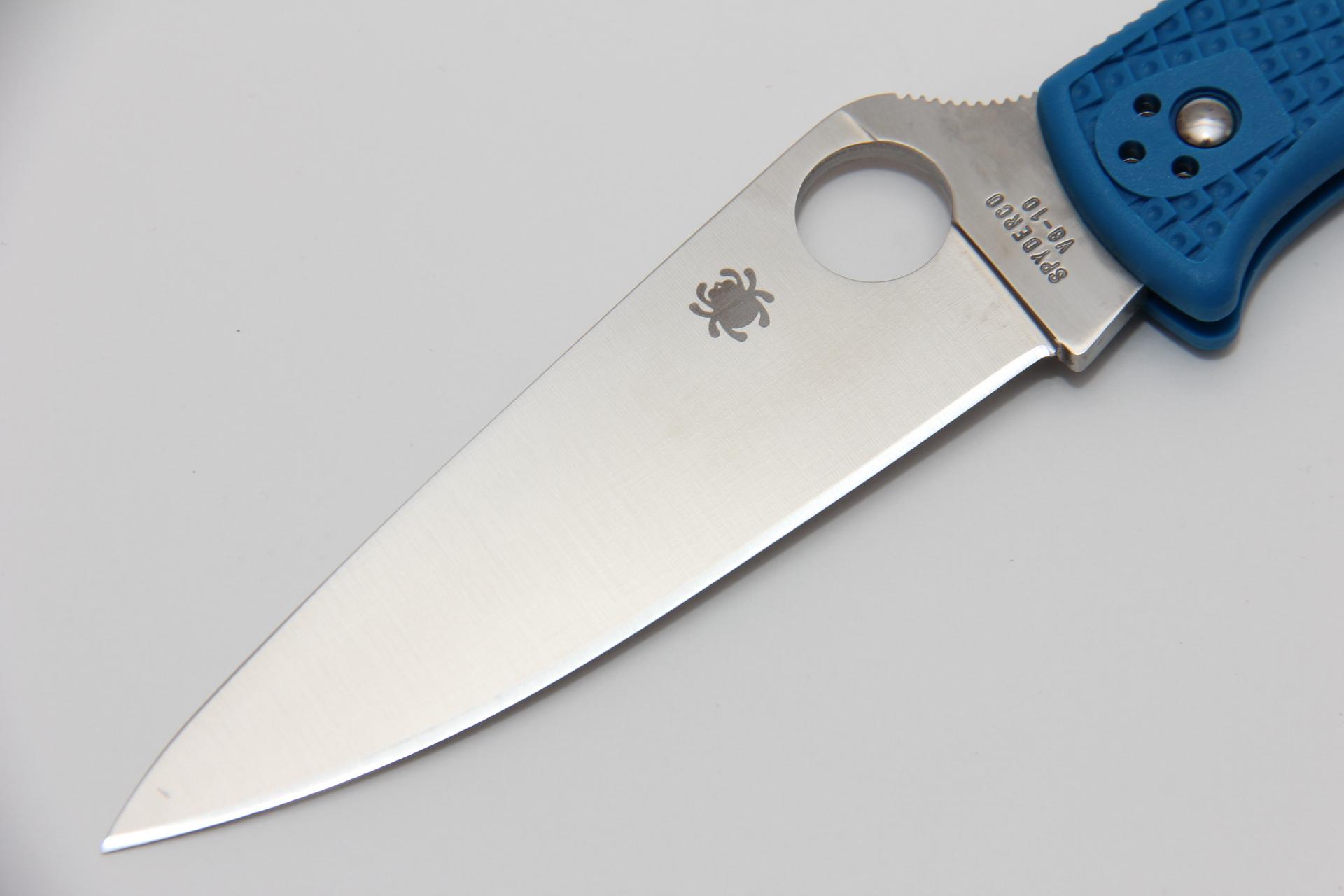 Нож Spyderco Endura Blue SC10FPBL