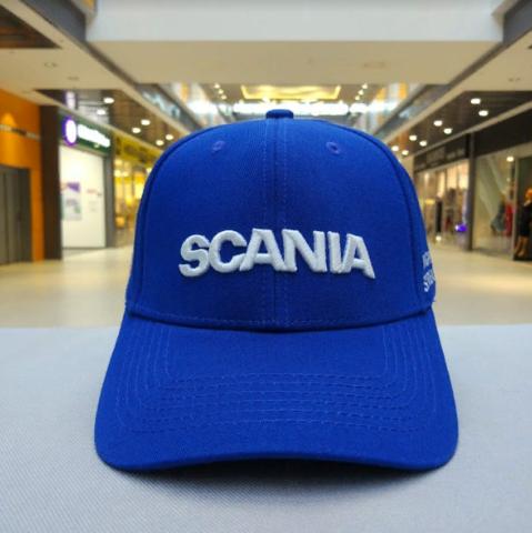 Кепка Скания синяя (Бейсболка Scania)