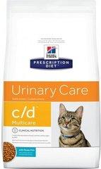 Ветеринарный корм для кошек при заболевания мочевыводящих путей  Hill`s Prescription Diet c/d  с океанической рыбой