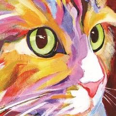 Котенок- алмазная картина