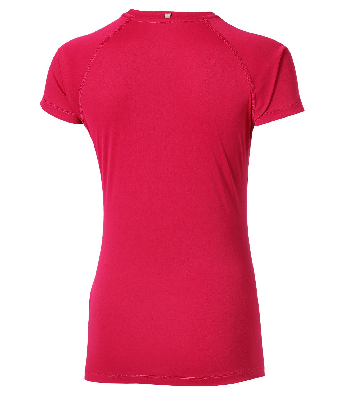 Женская спортивная одежда Asics Stripe SS Top (126232 6016) розовая