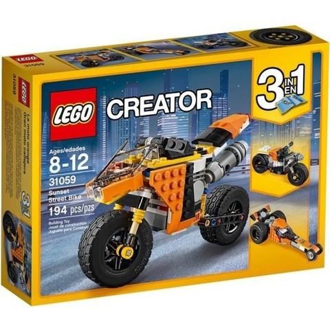 LEGO Creator: Оранжевый мотоцикл 31059