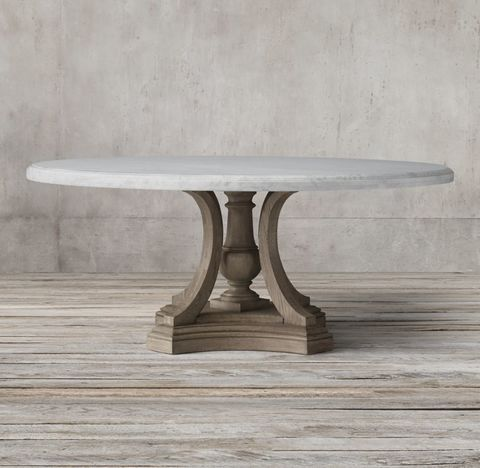 St. James Marble Round Table