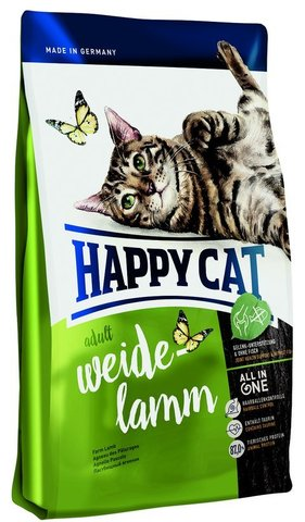 Сухой корм Happy Cat  Adult Weide-lamm