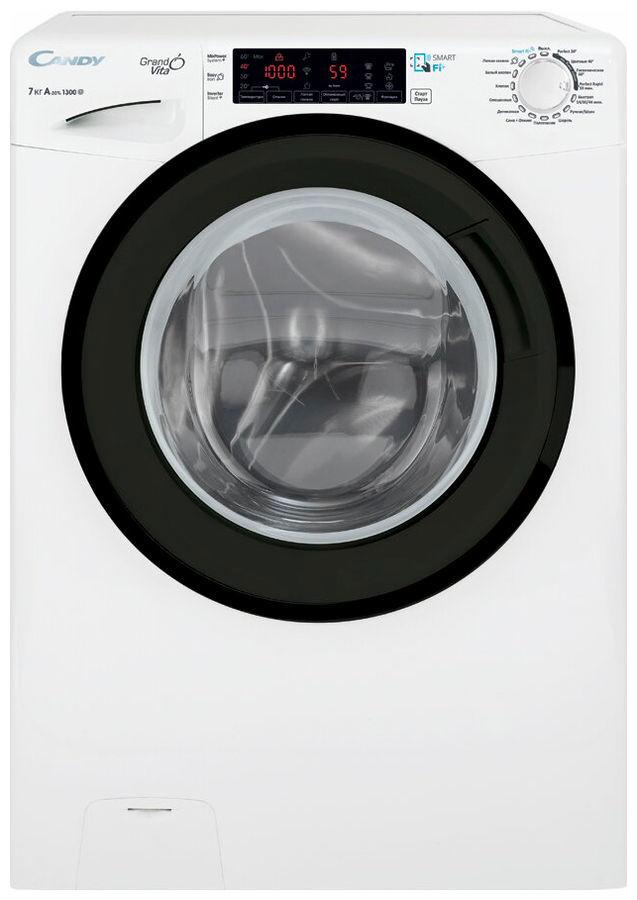 Узкая стиральная машина Candy GrandO Vita Smart GVF4 137TWHN/2-07 фото