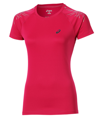 ASICS STRIPE SS TOP женская спортивная футболка