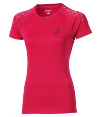 Женская футболка для бега Asics Stripe SS (126232 6016) розовая
