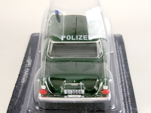 Opel Kapitan 1960 German 1:43 DeAgostini World's Police Car #6