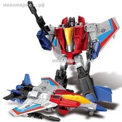 Старскрим-Самолет (18 см), робот-трансформер Transmutation