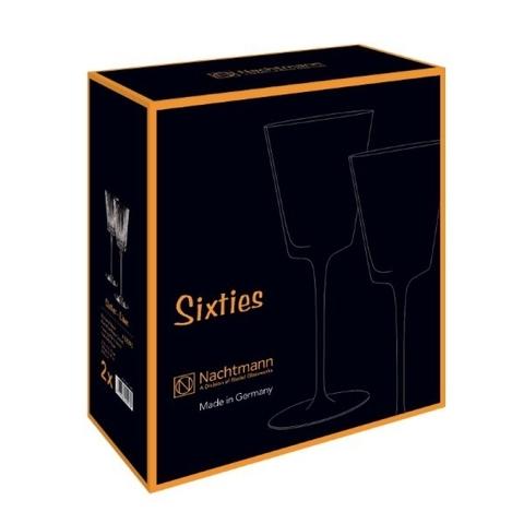 Набор из 2-х стопок Vodka/Shot Aqua 60 мл артикул 88942. Серия Sixties Stella