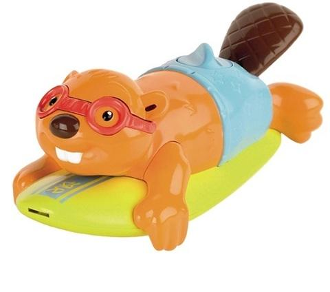 Tomy Игрушка для ванны Бобер-серфингист (T72032RU)