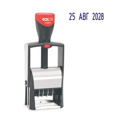 Датер автоматический металл. S2100/4 высота даты 4мм (аналог 5030)Colop