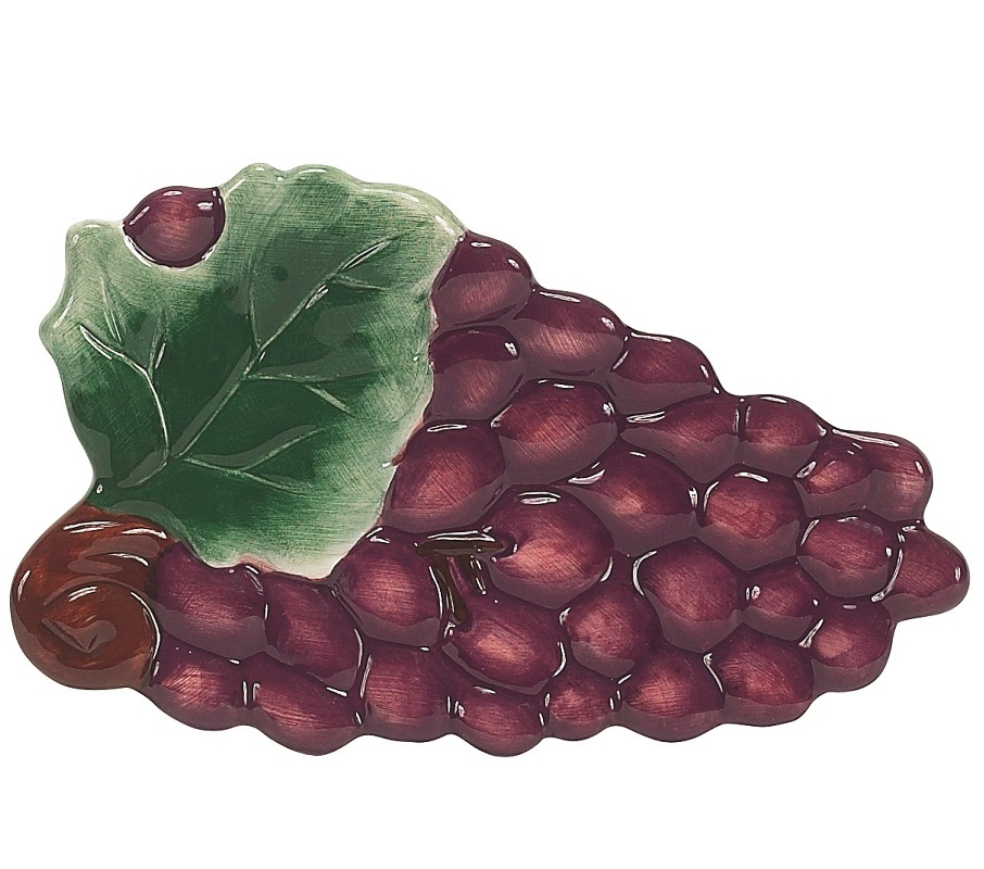 Кухня Подставка для ложки Boston Warehouse Napa Grapes podstavka-dlya-lozhki-boston-warehouse-napa-grapes-ssha.jpg