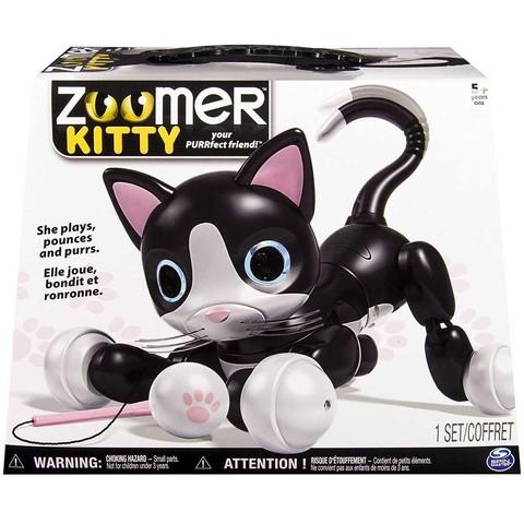 Кот Чёрный интерактивный