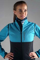 Женский разминочный жилет Nordski Premium Breeze-Black
