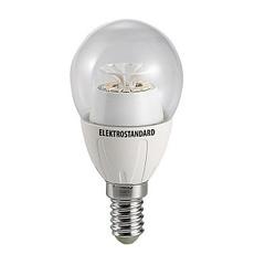 Лампа светодиодная Classic 14SMD E14 5W 3300K шар прозрачный 4690389054754