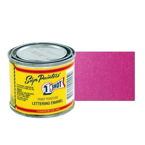 964-P Эмаль для пинстрайпинга 1 Shot Перламутровый темно-розовый (Dark Magenta), 236 мл