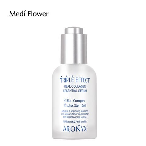 Medi flower Aronyx Triple effect Serum Тройной эффект Сыворотка с морским коллагеном 50мл