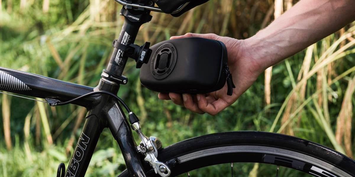 Кейс для велосипеда SP Connect Diamond Case Set установка под седло