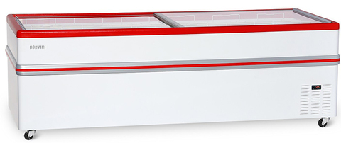 фото 1 Ларь-бонета Снеж BF Bonvini 2500 L (красный) на profcook.ru