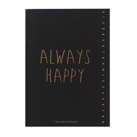 Тетрадь Always Happy